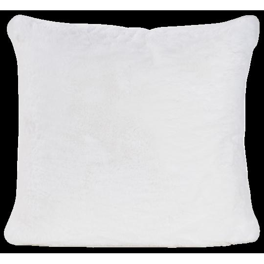 Winter Home Kissen Fellimitat GUANACO WHITE 45x45 cm und 60x60cm