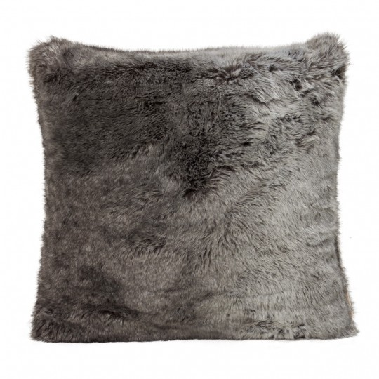 Winter Home Kissen Fellimitat TIMBERWOLF 45x45 cm und 60x60cm