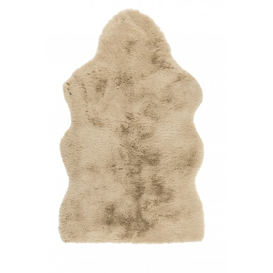 Winter Home Fellimitat Schaffell WOLLY sand 70x115 cm, 90x142cm