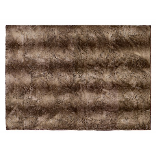 Winter Home Fellimitat Teppich Yukonwolf ca. 140x200 cm Braun