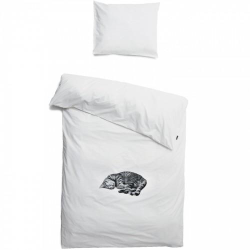 Snurk Bettwäsche Garnitur Katze Ollie 160x210+65x100 cm