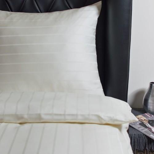 Hefel Luxus Bettwäsche Streifenmuster