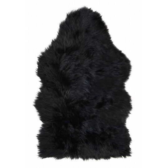 Winter Home Fellimitat Schaffell Blackwolf Schwarz 70x115 cm