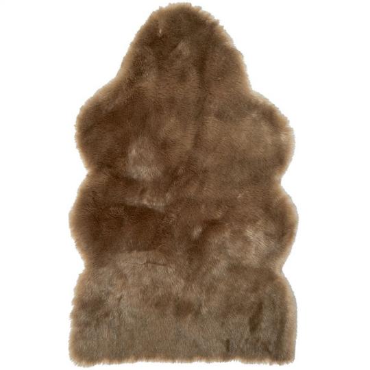 Winter Home Fellimitat Schaffell Savannawolf Braun 70x115 cm