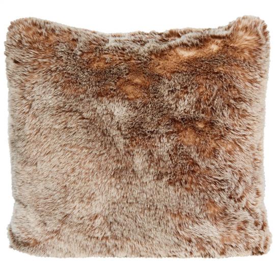 Winter Home Kissen Fellimitat Tundrawolf ca. 45x45 cm