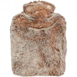 Winter Home Wärmflasche Fellimitat Tundrawolf