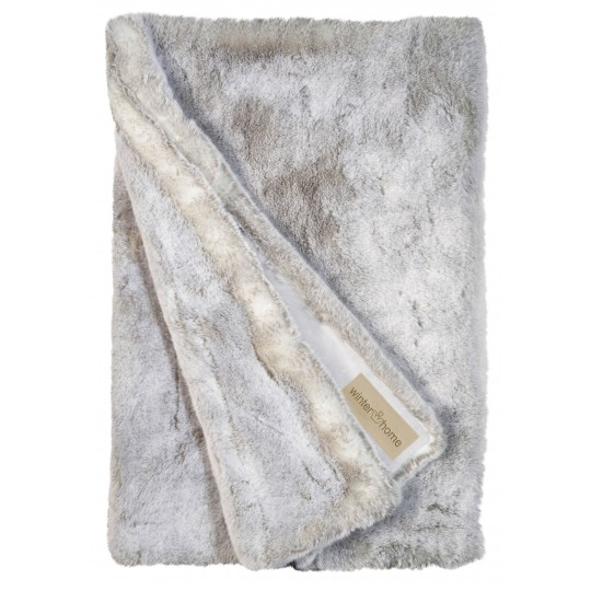 Winter Home Decke Fellimitat SILVERWOLF 140x200 cm